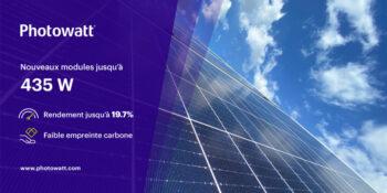 modules photovoltaïques nouvelle génération